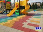 Fallschutzplatten Kinderspielplatz