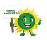 Bio+ Chlorella Mascot